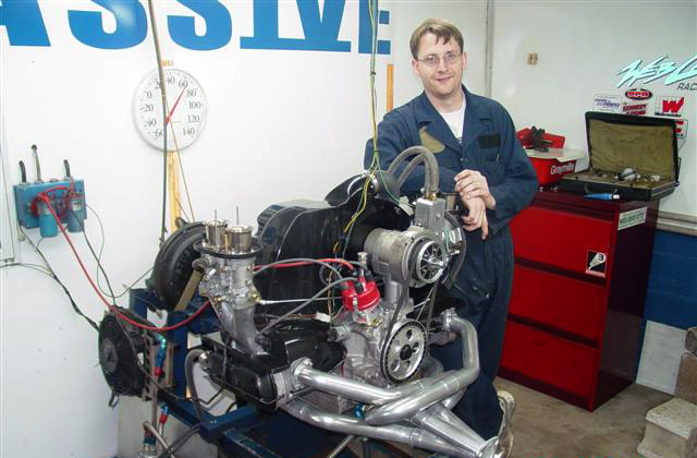After completing an exhaust cooling system development stint that required 3 solid weeks of effort in 2003.